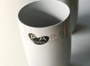 瑞典设计 实体店畅销款 PAPA&MAMA 爱心陶瓷杯|马克杯 情侣杯,杯子,