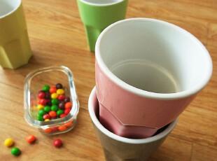 【icatlife】zakka经典 温润色系陶瓷随手杯 果汁杯 水杯,杯子,