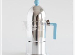 意大利 Alessi La Cupola 摩卡咖啡壶 6杯 A9095/6 AZ,杯子,