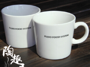 日式陶瓷咖啡对杯/水杯/漱口杯,杯子,