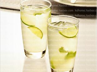 泰国Ocean 进口玻璃杯子/玻璃果汁杯/耐热玻璃水杯茶杯 355ml,杯子,
