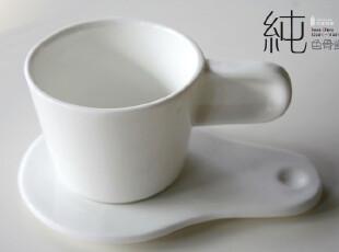 HOMELIKE 怡室怡家 纯色骨瓷系列 拇指杯碟,杯子,