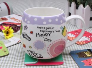 马克杯茶杯水杯情侣杯咖啡杯 创意杯子可爱 陶瓷杯骨瓷杯子大肚杯,杯子,