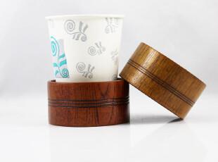 特价 天然环保 纯手工木制 茶杯托 茶道杯垫 复古生活 和风系列,杯子,