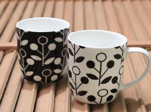 vue品牌 优质骨瓷 2色/组 马克杯 奶杯 水杯,杯子,