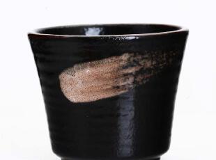 2012新款日单和风笔触陶瓷杯子茶杯日式茶具水杯手捧杯抹茶随手杯,杯子,