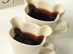 【批发】超萌ZAKKA 日用 杯子 小熊头像陶瓷马克杯 情侣对杯 2-7,杯子,