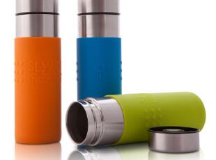 Stylor/花色家居 随行杯 保温杯 水杯 不锈钢 硅胶 便携 正品,杯子,