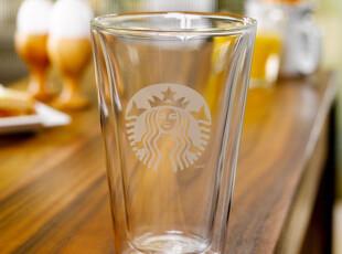 现货美国直购 星巴克Starbucks双层玻璃 随行杯14OZ Bodum 定制,杯子,