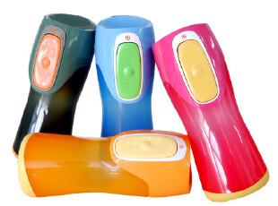 美国Contigo康迪克儿童杯 水杯 儿童水壶 创意儿童饮水杯  280ml,杯子,