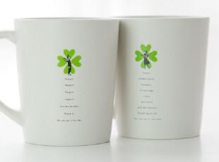 HUMAN TOUCH正品-爱情系列情侣对杯/马克杯陶瓷---Flower boy,杯子,
