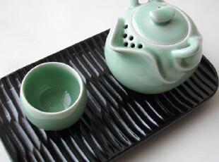 *陶亦饰家*一泡一杯 龙泉青瓷 整套茶具功夫茶具 茶壶+茶杯+茶盘,杯子,
