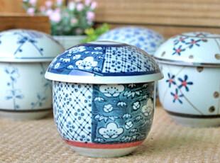 千度悠品 日式 和风 盖杯 茶杯 汤杯 蛋杯 汤盅 4入套装 礼盒,杯子,