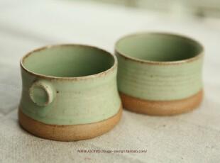 布果bugo|手工拉胚 手感超好 无光绿 水杯杯子情侣杯 单价,杯子,