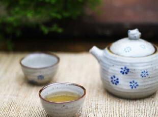 茶具 套装 陶瓷 ZAKKA 日式招手猫 一壶两杯/drink/,杯子,