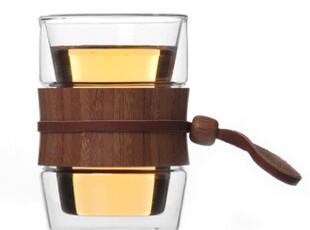 满额包邮 双层玻璃杯透明水杯子 花茶杯 办公杯女士 正品特价,杯子,