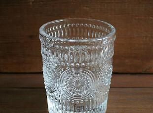 FEN ZAKKA 杂货 欧式复古刻花玻璃水杯 威士忌杯 洋酒杯,杯子,