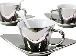 三套包邮 7.2折秒杀 正想 欧式骨瓷咖啡杯 套装情侣对杯 买五送一,杯子,