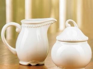 PRINCESS HOUSE外贸陶瓷咖啡奶茶器具早餐公主屋纯白浮雕珠珠奶杯,杯子,
