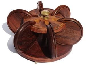 【野人小饰】印度菩提木杯垫*印度杯垫*镶铜杯垫套装,杯子,
