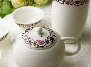 精美兰藤9头 热销陶瓷功夫茶具 功夫茶 茶壶茶杯 公道杯,杯子,