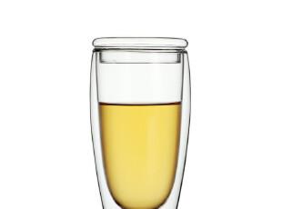 包邮!小北家GL26玻璃杯子 大号双层杯 带盖 清凉夏季 水杯 茶杯,杯子,