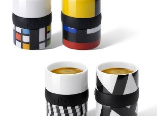 PO 丹麦进口 咖啡杯 咖啡器具 创意杯  家居生活用品,杯子,