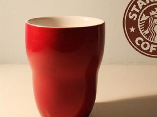 STARBUCKS星巴克  经典咖啡杯子 葫芦型双层杯 隔热杯子 水杯四色,杯子,