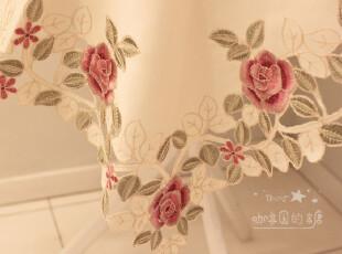 外贸欧式贡缎镂空刺绣布艺电视盖布茶几布小圆桌布台布餐桌布,桌布,