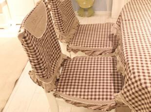【咖啡因的糖】出口英伦格子餐桌布/餐椅套椅垫/坐垫/茶几布,桌布,