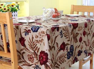 爱丁堡配套花纹 田园风格桌布 餐桌布 盖布,桌布,