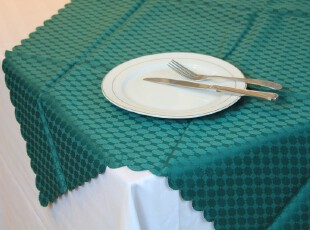 外贸出口涤纶提花桌巾 田园风 台布 多用巾 欧式,桌布,
