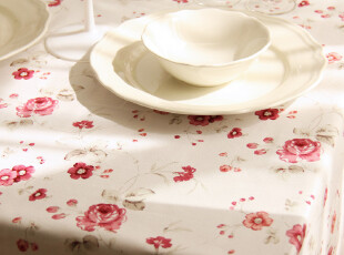 【蔷薇】系列-桌布/台布/盖布/茶几布(可定做尺寸)花朵版,桌布,