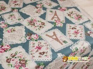 和风蕾丝玫瑰铁塔-桌布|台布|茶几布|餐桌,桌布,