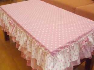 新款公主茶几桌布长方形 布艺餐桌布桌椅套装 桌垫台布全棉定做,桌布,