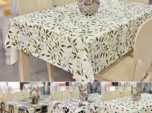 小艾 特价 PVC桌布 免洗台布 防水 防油餐桌布 耐高温 田园 多款,桌布,
