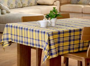 hello家 田园风格 全棉 桌布 台布 餐桌布 盖布餐厅装饰 140*180,桌布,