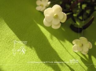 纯棉活性 定做桌布 台布 沙发巾 桌旗 盖布 茶几布 纯色草绿,桌布,