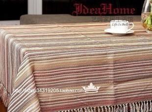 艺典家居 时尚家居 亚麻 桌布 台布 餐桌 布135cm宽 雾色,桌布,