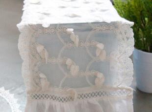 『韩国网站代购』爱的罗曼风 片片树叶轻飘蕾丝桌巾,桌布,