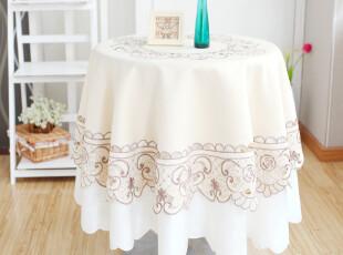 6740*品味生活 欧式 餐桌布 布艺 茶几台布 圆桌桌布 台布 外贸,桌布,