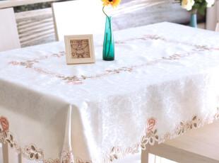 6732*品味生活~欧式 餐桌布 布艺 茶几台布 圆桌桌布 台布 外贸,桌布,