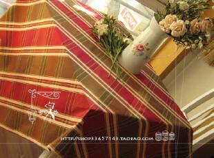 桌布*台布*沙发巾*桌旗*盖布*茶几布(纯棉色织提花) 格鲁斯,桌布,