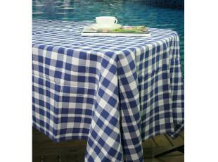 外贸出口余单 纯棉经典兰格子加厚桌巾 台布 多用巾,桌布,