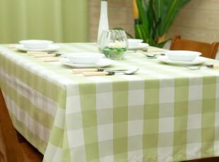 Evert 格子布艺 桌布台布餐桌布茶几布简约盖布桌垫,桌布,