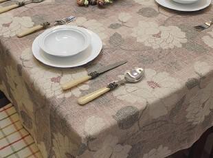 EMMA 桌布/台布/餐桌布/茶几桌垫茶几布布艺 亚麻 古典,桌布,