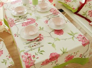 【伊诺佳美】瑞丽莺歌 /纯棉活性帆布 台布、桌布、盖布,桌布,