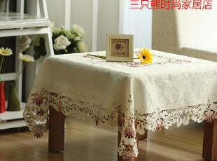 6728 品味生活~欧式 餐桌布 布艺 茶几台布 圆桌桌布 台布 外贸,桌布,