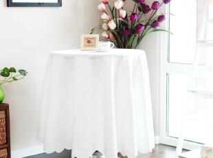6701 蕾丝桌布 米黄色台布 餐桌布 圆桌布 打底桌布 田园布艺,桌布,