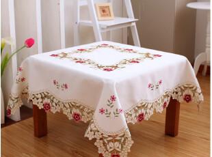 6703*品味生活 欧式 桌布 餐桌布 布艺  茶几台布 圆桌桌布 台布,桌布,